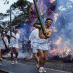 竹割り祭り2020 日程・駐車場・アクセス・交通規制や見どころをご紹介します。