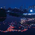 広瀬川灯ろう流し 2019 日程・屋台・アクセス・駐車場と見どころをご紹介します。