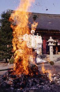 愛宕社の火祭り