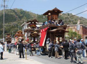 須賀神社大祭山車